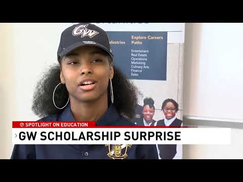 10 D.C. students receive full-ride, $280,000 scholarships to George Washington University