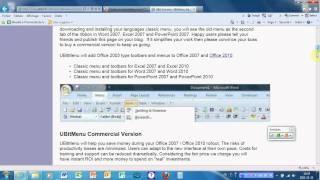 Onglet 2003 pour Excel et Word 2007 et 2010 Isabelle Enseignante