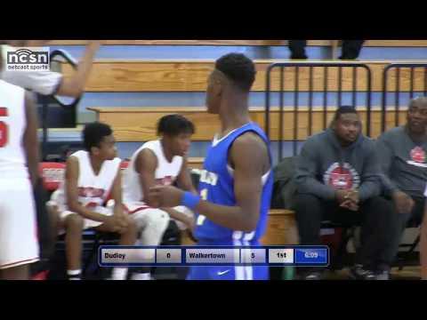 Dudley vs Walkertown  - Hoop Cities Invitational 2018 (high school basketball)