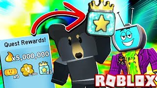 I Got A FREE Gifted Star Jelly From Black Bear After Doing This In Roblox Bee Swarm Simulator