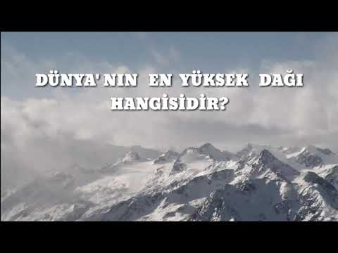 En Yüksek Dağ (Everest Vs Mauna Kea)