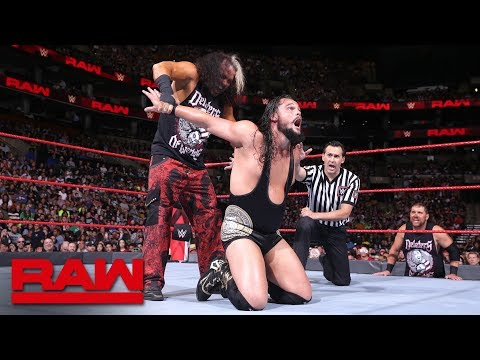 """Woken"" Matt Hardy vs. Bo Dallas vs. Raw July 9, 2018"