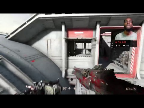 (Bang to 1k)....Wolfenstein 2 The New Colossus ( credit give away)..Ps4...live from kingston jamaica