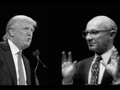 Trump vs Friedman - Trade Policy Debate