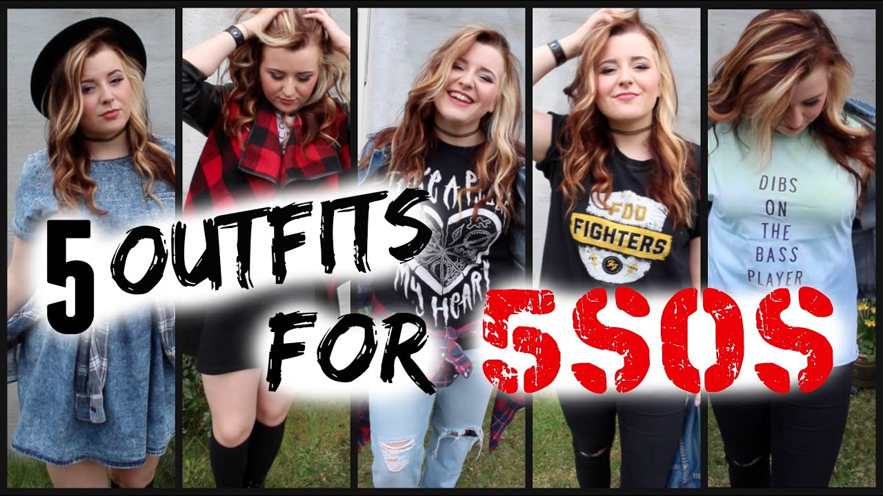 9b787d71eb6 5 OUTFIT IDEAS FOR 5SOS - YouTube