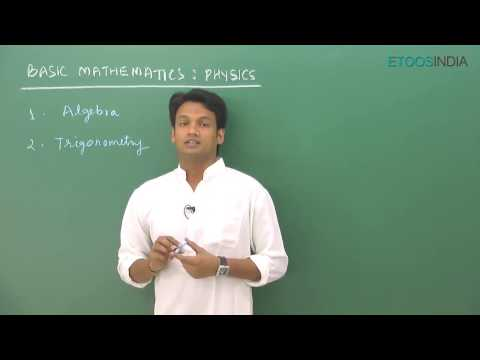 Basic Mathematics of Physics for JEE Main & Advanced by NKC Sir