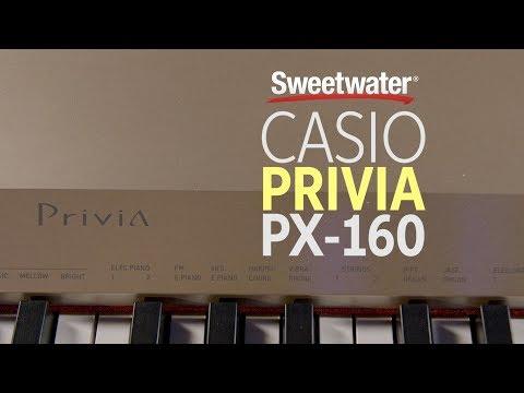 Casio Privia PX-160 Digital Piano Review