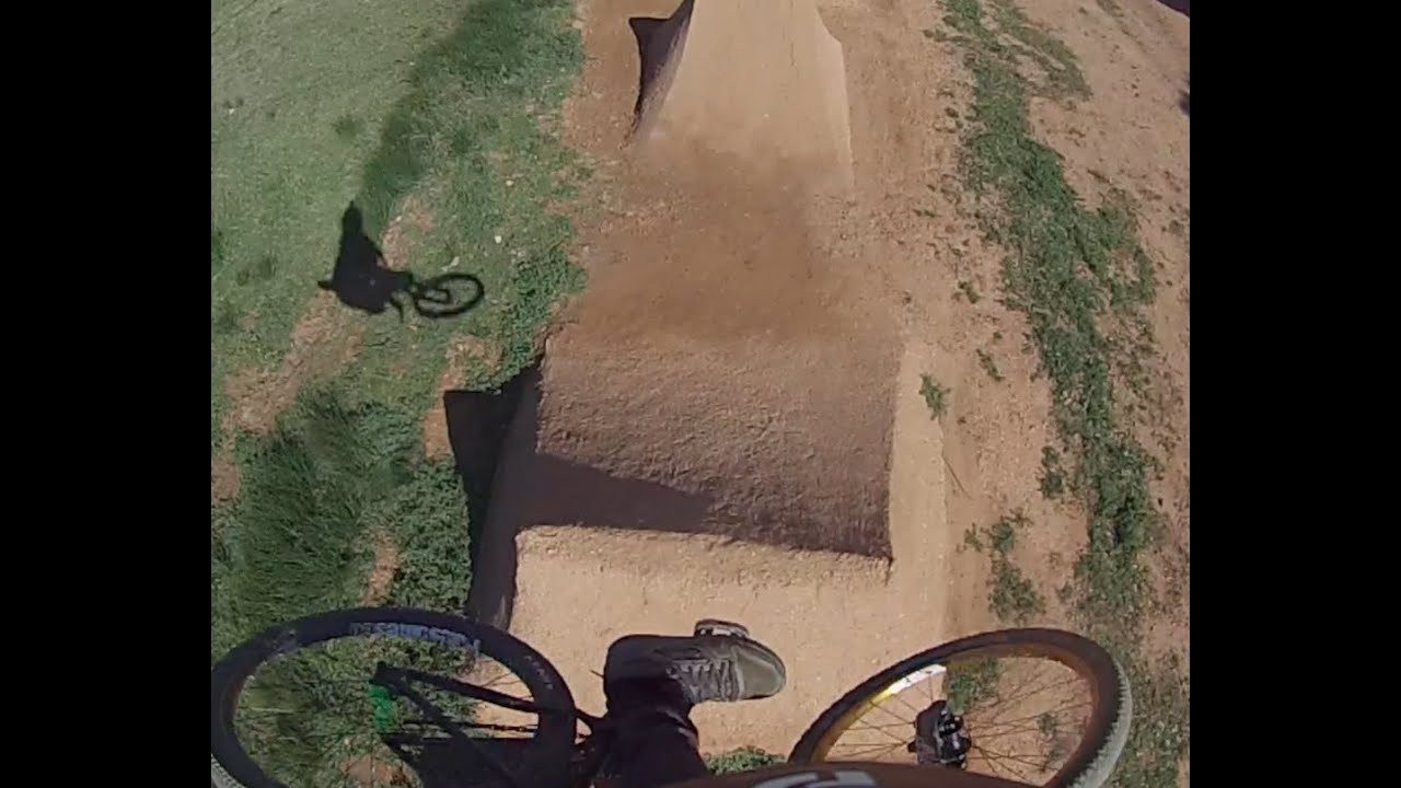 my backyard dirt jumps go pro course preview youtube