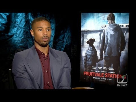 Michael B. Jordan discusses challenges of playing Oscar Grant in Fruitvale Station