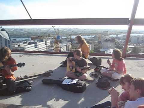 Сын Вождя и Племя - Сейшн на крыше Новосибирска