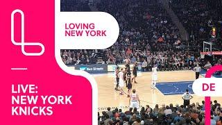 New York Knicks live im Madison Square Garden