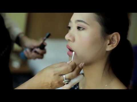 Phuket Makeup Artist Service : Lixin and Weiyuan