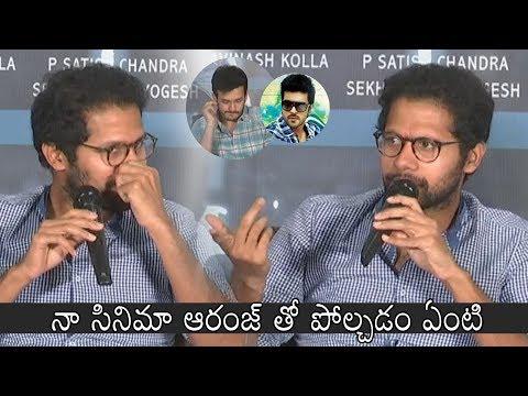 Director Venky Atluri about Ram Charan Orange Movie | Mr Majnu Team Pre Release Press Meet