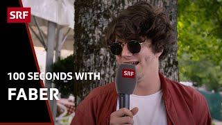 Faber: «Ich bin ein Hitzkopf» || 100 Sekunden mit dem Zürcher Songschreiber