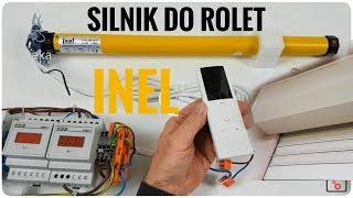 Silnik do rolet z odbiornikiem radiowym INEL - jak zaprogramowac, jak dziala odc.12 Vteka
