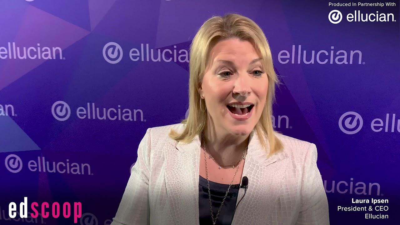 Ellucian Live 2019: Ellucian's Laura Ipsen (Pt  2)