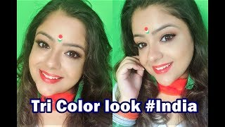 Ae Vatan Vatan Mere Musically and Tri color wearable look