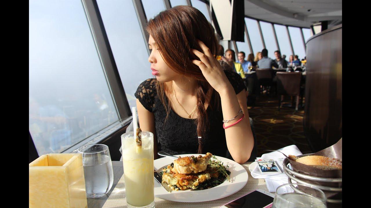 Cn Tower Restaurant Lunch Menu