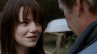 Paper Man- Emma Stone and Jeff Daniels scene ( Bluebird Of Happiness- Mojave 3 )