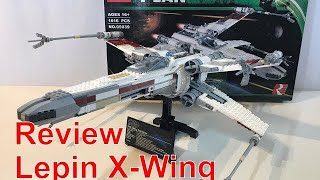 LEPIN 05039 Red Five X-Wing UCS Star Wars Review / Unboxing / Speed build