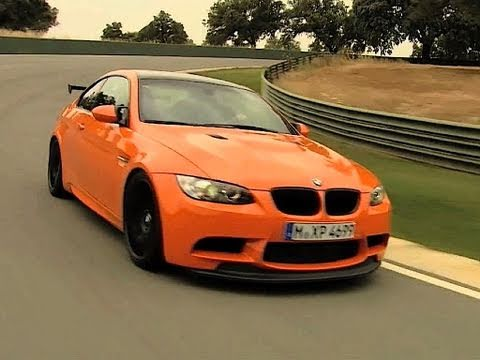 Roadfly.com - 2011 BMW M3 GTS Debuts on the Racetrack - YouTube