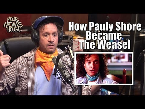 How Pauly Shore Became The Weasel  YMH Highlight