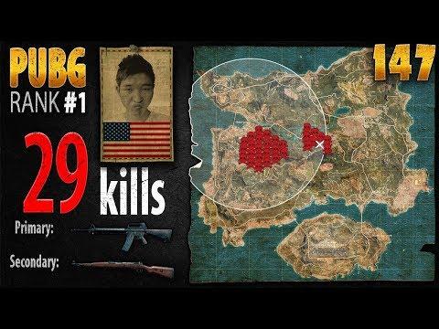 PUBG Rank 1 - Menthol_TV 29 kills [AS] SQUAD TPP - PLAYERUNKNOWN'S BATTLEGROUNDS #147 thumbnail