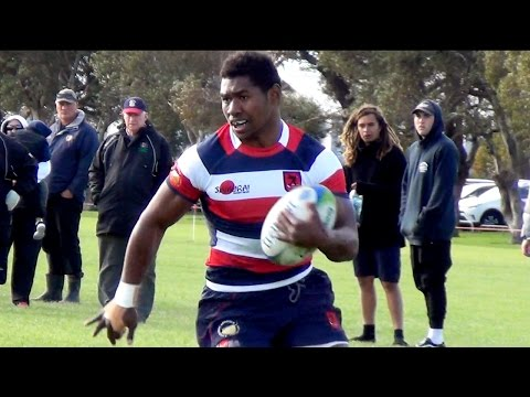 Kini Naholo 6 Tries in ONE half | Hastings Boys 1st XV