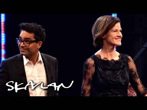 In Swedish: Anna Kinberg Batra och David Batra ger första intervjun tillsammans | SVT/NRK/Skavlan