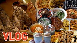 [VLOG] 먹방 브이로그 (라면, 국밥, 마라엽떡, …