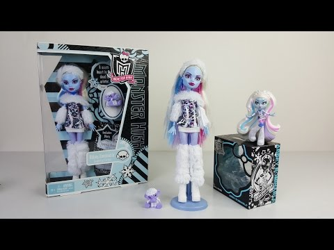 Abbey Bominable Unboxing Review Monster High