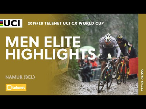 Men Elite Highlights - Namur | 2019/20 Telenet UCI CX World Cup