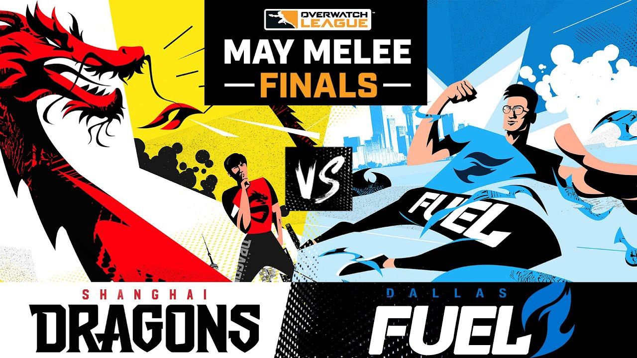 Grand Finals | Shanghai Dragons vs Dallas Fuel | May Melee Tournament | Day 3