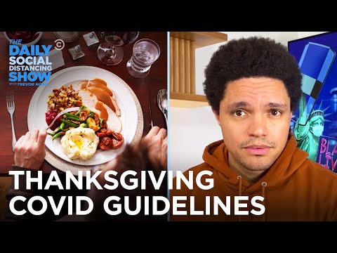 Corona Explodes in the U.S & CDC Releases Thanksgiving Guidelines   The Daily Social Distancing Show