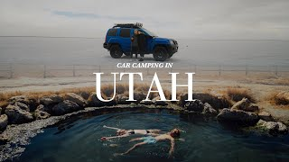 CAR CAMPING IN UTAH