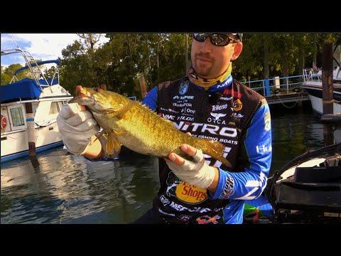 Ott DeFoe Niagara Falls Topwater Fishing