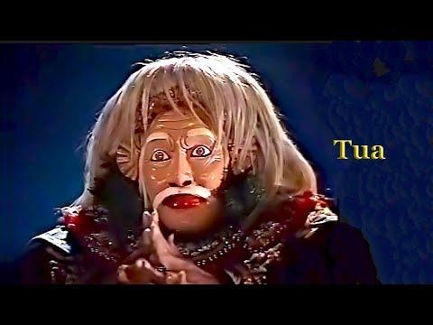 Balinese mask dance – Tari Topeng Tua (wise old man, monarch)