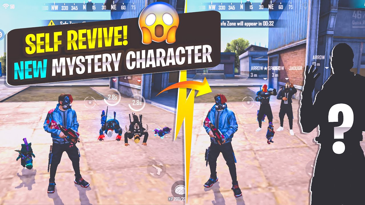 New Character Shocking Skills and Effect in Esport 😲