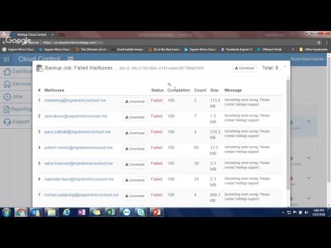 NetApp Cloud Control for Office 365 webinar