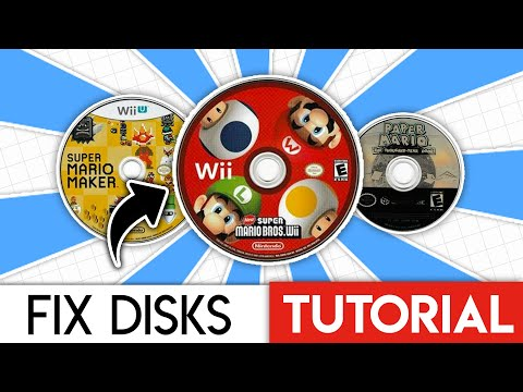 FIX your SCRATCHED Disks! - GCN, Wii, PS1, etc.