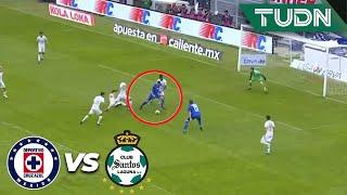 ¡Era el tercero de La Máquina! | Cruz Azul 2 - 0 Santos | Liga Mx - CL 2020 J3 | TUDN