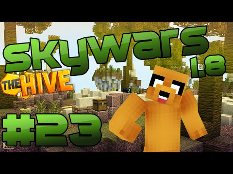 ME CAGO EN MI SUERTE - Skywars (Lucky) #23 | Minecraft 1.8 Skywars The Hive