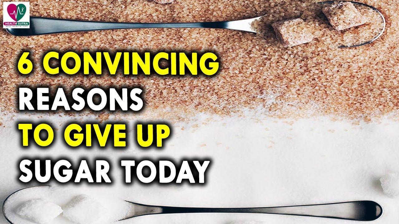 Reasons to give up sugar