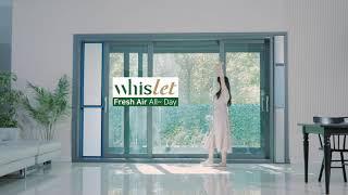 [미세먼지] 자연환기 필터 휘슬렛 (Whislet) 영…