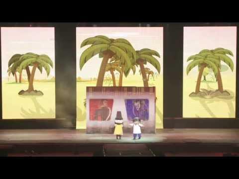 El asombroso musical de zamba con san mart n en tecn polis for El asombroso espectaculo zamba