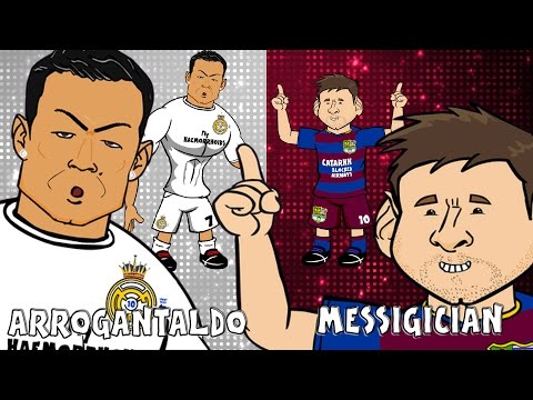Ronaldo vs Messi - THE SONG! (Anything I Can Do Parody El Clasico Preview 2015)