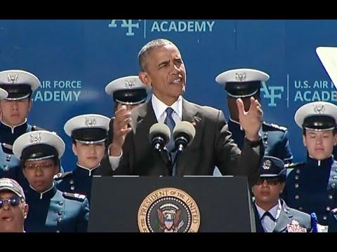 Obama Addresses 2016 U S  Air Force Academy Graduates - Full Speech