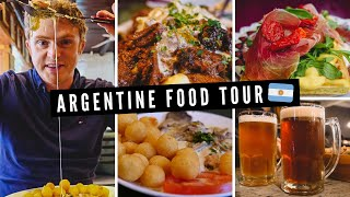 ARGENTINE FOOD TOUR | Patagonian Cuisine feat. Trout + Deer Stew + Artisanal Chocolates and More! ??