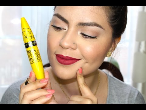 38c602c1b27 NEW Maybelline The Colossal Spider Effect Mascara Review & Demo - YouTube