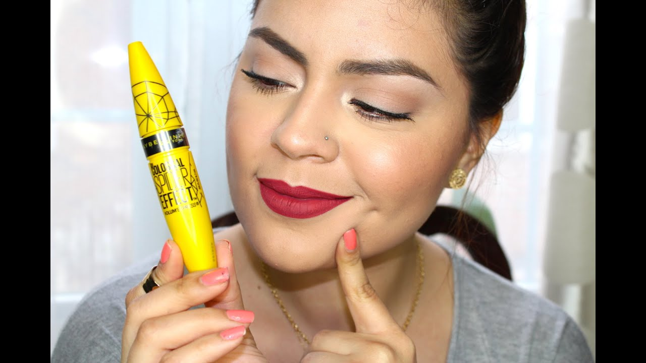 5f143ee7f28 NEW Maybelline The Colossal Spider Effect Mascara Review & Demo ...